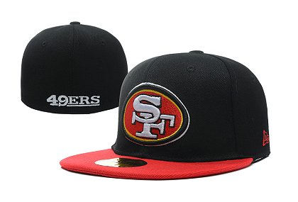 San Francisco 49ers Fitted Hat LX-A